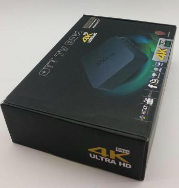 Android smart tv box mxq-4k-novo!