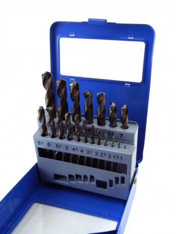 Burgije za metal 1-10 mm set burgija od 19 komada