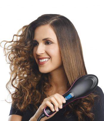 Keramička četka za peglanje kose-NOVO