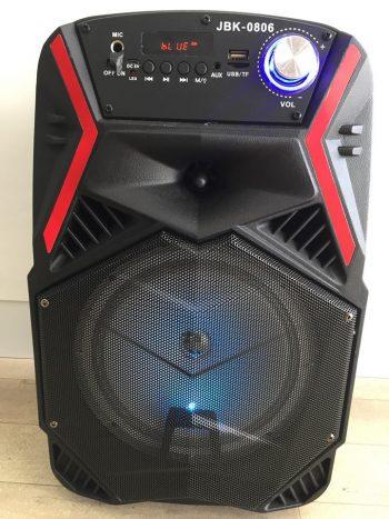Veliki Bluetooth Karaoke Zvucnik JBK-0806 Najnovi na trzistu
