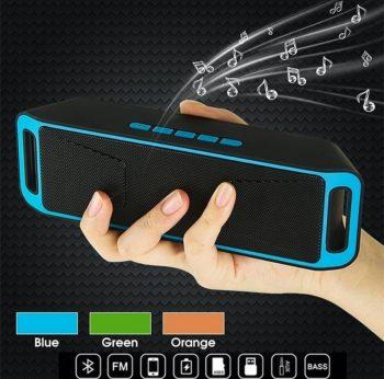 BLUETOOTH zvučnik Mega BASS FM,Usb,Micro SD