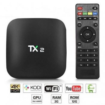 TX2 Android Smart TV BOX 2GB RAM, 4K ULTRA HD rezolucija
