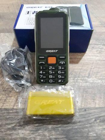 Mobilni telefon Great sa izuzetno jakom baterijom-Novo!