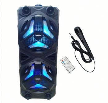 Bluethooth Karaoke zvucnik VB-002 + mikrofon-Novo!