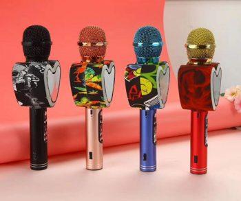 Bluetooth Karaoke Mikrofon Q5-Novo!