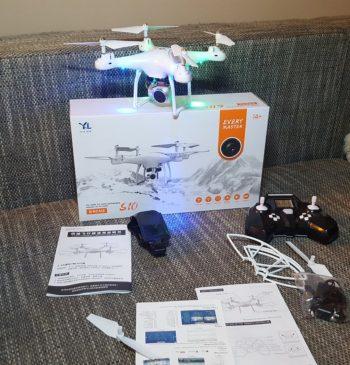 Dron – quadcopter selfie dron sa 720p wi-fi kamerom-Novo!
