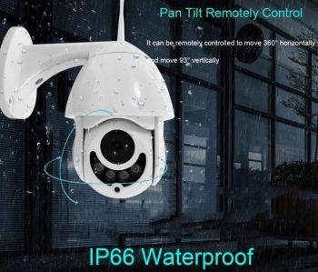 IP WiFi PTZ kamera spoljna 360 vodootporna 1080P-Rasprodaja!