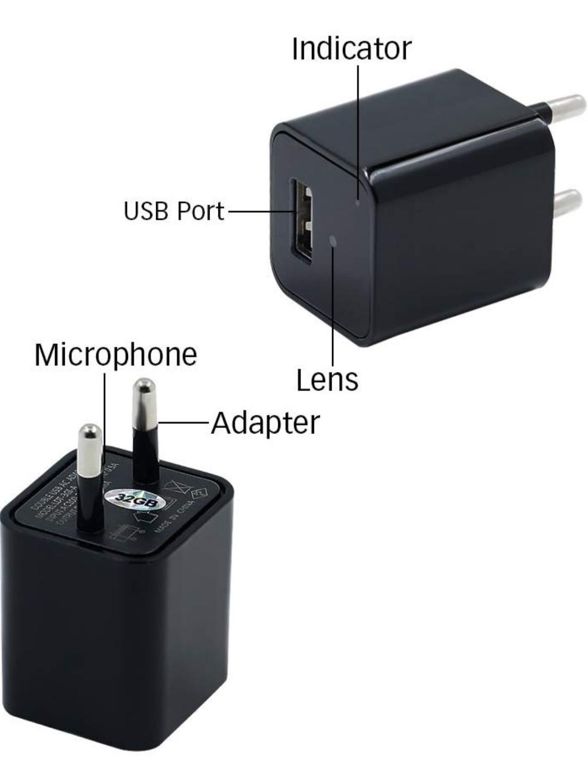 Wifi HD Punjac kamera detekcija pokreta 1080P