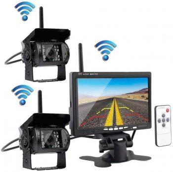 Set Monitor 7″+ 2 wifi bezicne kamere za kamione,kombajne