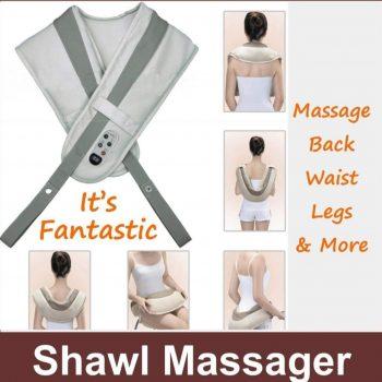 Shiatsu 3D Tapping Masažer – Cervical Massage shawls