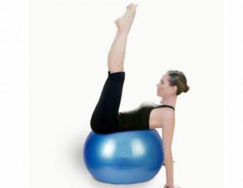 Lopta za pilates i aerobik – prečnika 65-Novo