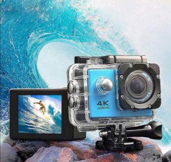 Akciona 4K ULTRA HD Sportska Kamera WI FI +Daljinski