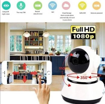 IP wifi kamera FULL HD 2.0MegaPixel 1080p-Novo!