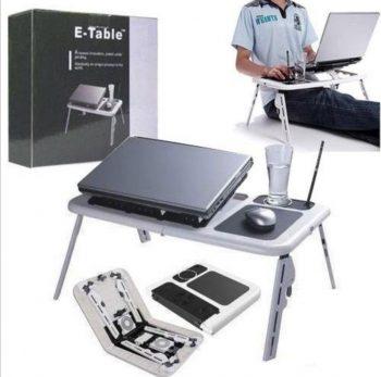 Sto za laptop sa dva kulera (e-table)