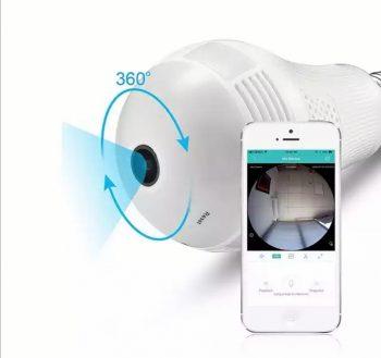 Kamera Sijalica 360 stepeni IP WiFi kamera u sijalici