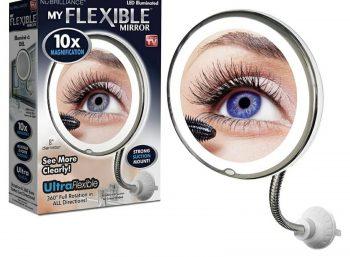 Fleksibilno ogledalo sa uvećanjem 5x