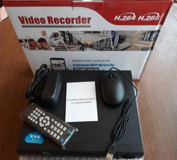 AHD DVR za 4 ili 8 kamera,Najnovi model!