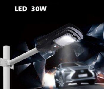 LED Reflektor Solarni 30W za stubnu montazu + Daljinski