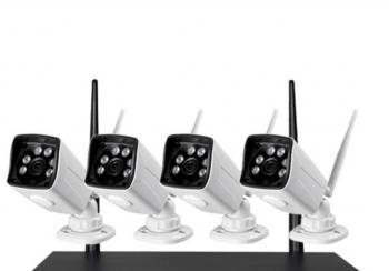 Najnoviji Model Wifi Video Nadzor Sa 4 IP HD 4G Kamere