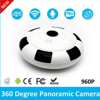 VR HD WiFi Panorama IP Kamera
