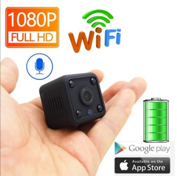 Mini IP kamera HD 1080P WiFi audio