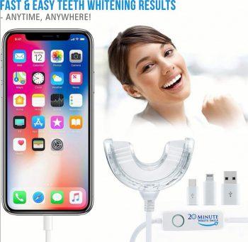 Izbeljivac za zube-Novi model