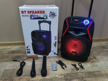 Veliki Bluetooth Zvucnik + 2 Mikrofona