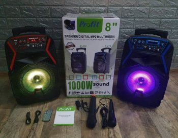 Veliki Bluetooth Zvucnik + 2 Mikrofona Profit