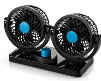 Dupli ventilator za auto 12v