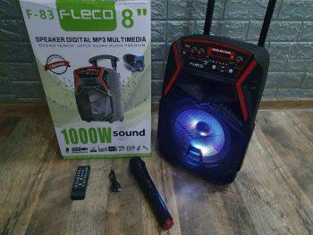 Karaoke Bluetooth Zvucnik + Bezicni mikrofon FLECO F83