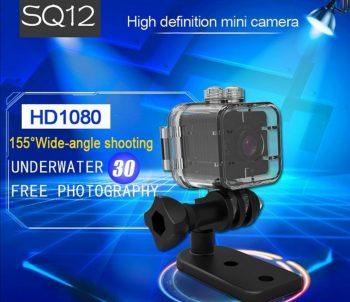 Wodootporna Akciona kamera SQ12