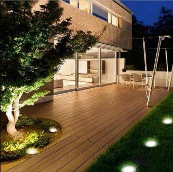 Solarne LED Lampe za dvoriste sa 8 dioda