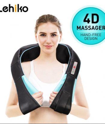 Šijacu masažer vrata, ramena, leđa Model sa 6 tastera