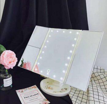 Led Touch ogledalo za sminkanje sa 22 led svetla