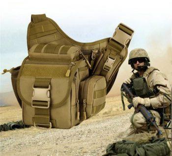 Takticka torba za pistolj,na rame molle sistem