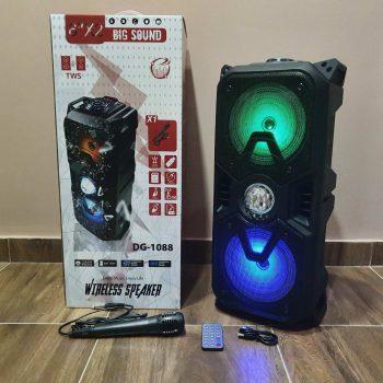 Bluetooth Karaoke Zvucnik DG-1088 + mikrofon