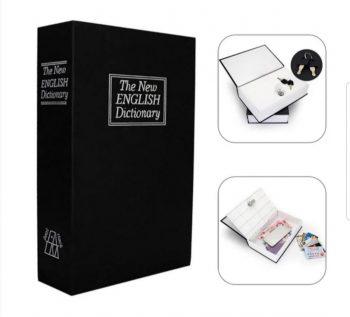Knjiga sef za čuvanje novca, nakita