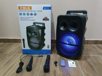 Veliki bluethooth zvucnik CMiK MK-17U+ Dva mikrofona