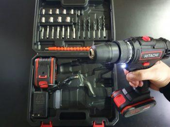 Hitachi aku srafilica/busilica 36v +pribor+2 baterije