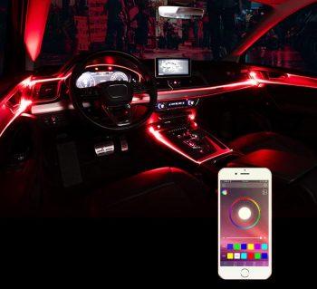 Ambijentalno RGB LED osvetljenje za enterijer auta RGB niti