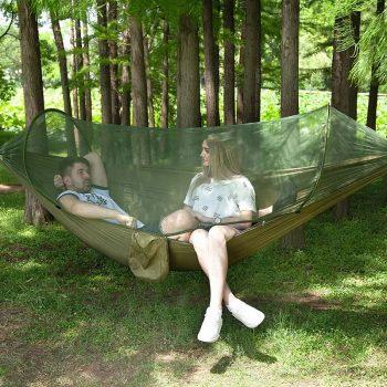 Lezaljka Ljuljaska Za Drvo i Bastu sa komarnikom