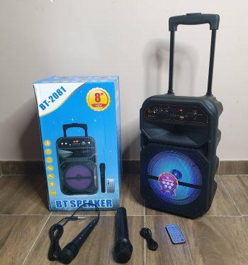 Veliki Bluetooth Zvucnik + 2 Mikrofona BT-2081